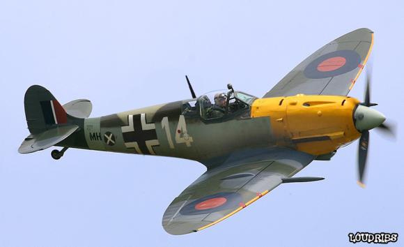 frankenfighters messerspit Messerschmitt Spitfire